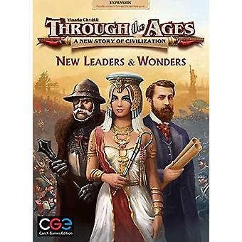 Through The Ages New Leaders & Wonders Expansion Pack