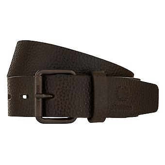 Strellson belts men's belts leather leather belt Brown 2309