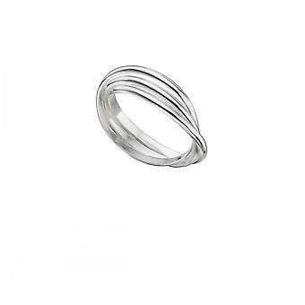 بدايات الجنيه الاسترليني الفضة 3 قطعة خاتم الزفاف الروسي R141