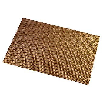 Homemiyn Hollow Square Place Mat Abrasion Resistant