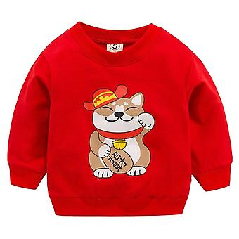 Baby Sweatshirts Autumn Spring Cartoon Cotton Hoodies, Kids Long Sleeve