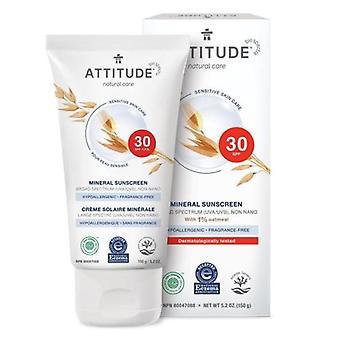 Attitude Følsom hudpleje 100% mineral solcreme, 5 Oz