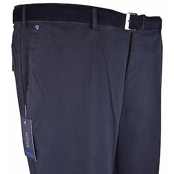 BRUHL Bruhl Stretch Cotton Chino Trousers