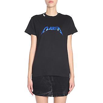 Forte Couture Fcfw1886 Women's Black Cotton T-shirt