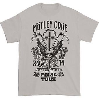 חולצת טריקו של סיבוב ההופעות האחרון מוטלי קרו