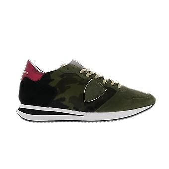 Philippe Model TRPX L DPONY CAMOUFLAGE MILITA Green TZLDCP01CP01 shoe