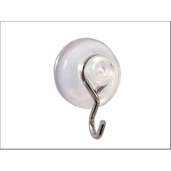 Basics Metal Suction Hook 20mm x 4 43436
