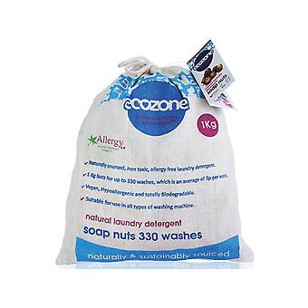Ecozone Soap Nuts 330 Washes 1kg SN1KG