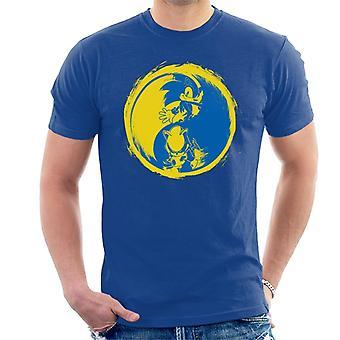 Sonic The Hedgehog Yin Yang Men's T-Shirt
