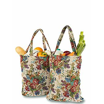 Chums Set of 2 Tapestry Shopping Bags