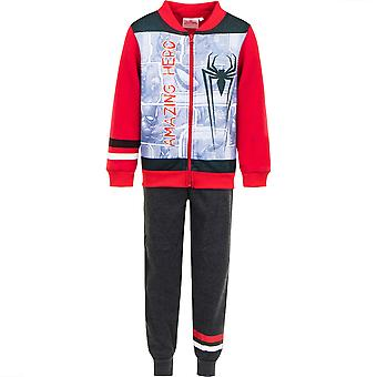 Spiderman kinderen (2-8) trainingspak jogging set - geweldige held spi1309trk