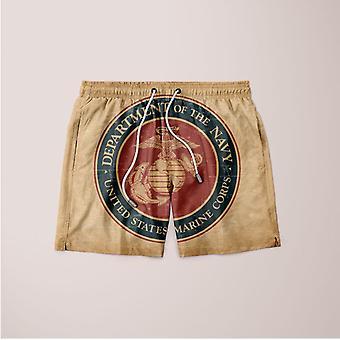Dd-marine korps grunge segl shorts