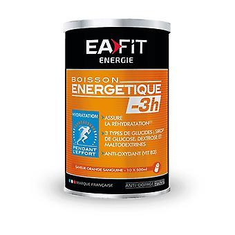 Energy Drink -3H Blood Orange 500 g of powder (Orange)