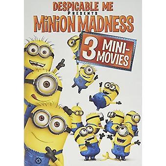 Despicable Me Presents: Minion Madness [DVD] USA import
