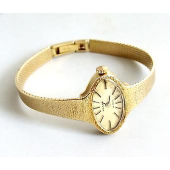 Gold Prism Uhr