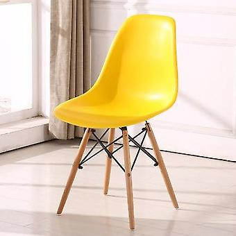 Simple Design Leisure, Office Dining Chair Afternoon Tea Plastic Wooden