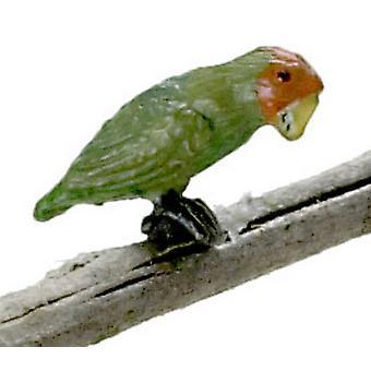 Dolls House Love Bird Falcon Miniature 1:12 Scale Garden Aviary Cage Accessory