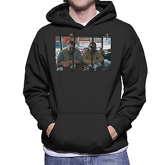 The Big Lebowski The Dude And Walter Coffee Shop Scene Men's Hooded Sweatshirt