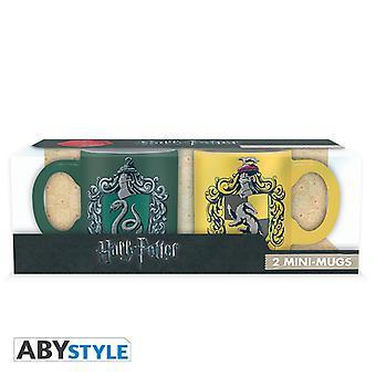 Harry Potter - Slytherin & Hufflepuff Espresso Mugs