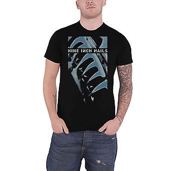Nine Inch Nails T Shirt Pretty Hate Machine Band Logo new Official Mens Black