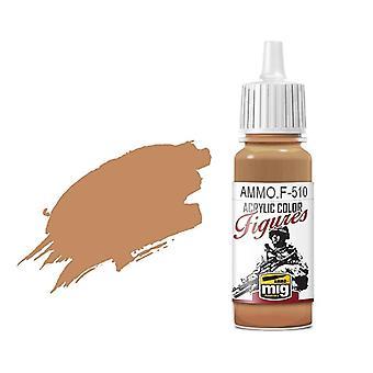 Ammo by Mig Figure Paints F-510 Uniform Sand Yellow FS-32555