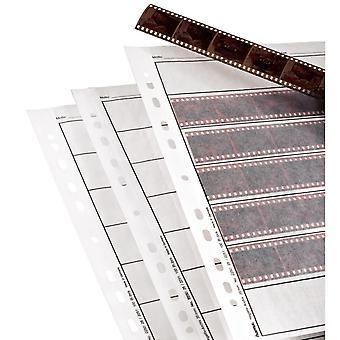 Hama 2251 24 x 36mm záporné pouzdro na pilník a sklolové matné 100 listů 7 proužků 6 (24 x 36 mm) s