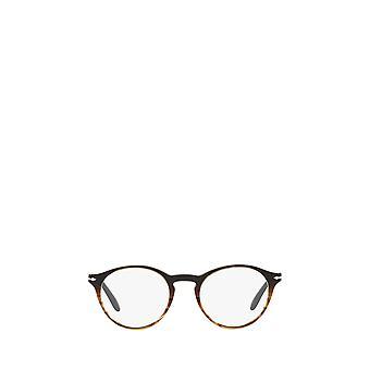 Gafas Unisex Persol PO3092V degradado negro y marrón rayado