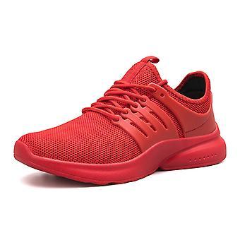 Zapatos de running ligeros para hombre056 Rojo