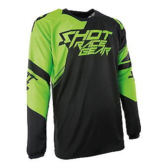 Shot Contact Claw Green Adults MX Jersey