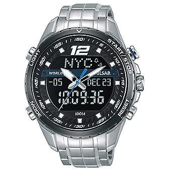 Relógio Masculino Pulsar PZ4027X1, Quartzo, 45mm, 10ATM