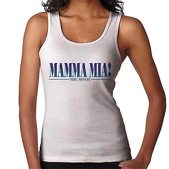 Mamma Mia The Movie Theatrical Logo Women's Vest