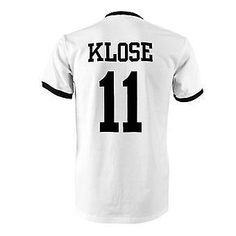 Miroslav Klose 11 Germany Country Ringer T-Shirt