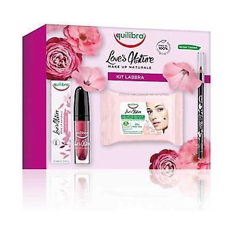 Love's Nature Kit Lips 3 units