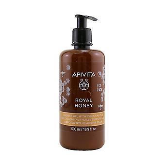Royal honning cremet shower gel med æteriske olier ecopack 257623 500ml/16.9oz
