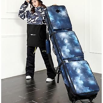 Große Kapazität Snowboardtasche mit Rädern