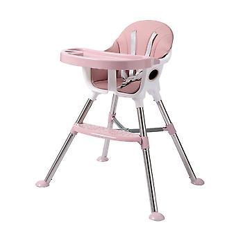 baby høy stol multi-funksjon bærbar baby spisebord spise stol