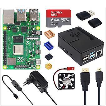 Power Supply + 64gb Sd Card+ Heatsink Optional