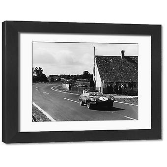 1956 Le Mans 24 godziny. Duże zdjęcie w ramce. 1956 Le Mans 24 godziny. <br> Le Mans, Francja. 28. miejsce -.