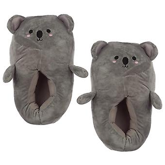 Cute koala unisex one size pair of slippers