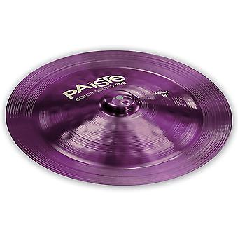 Paiste colorsound 900 china cymbal purple 18 in.