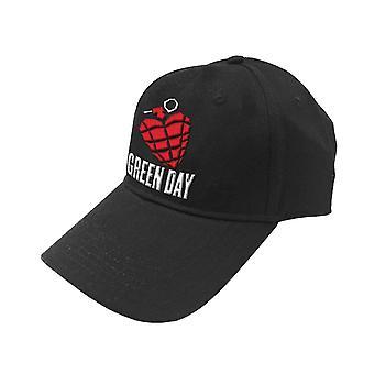Green Day Baseball Cap Grenade Band Logo new Official Black Unisex Snapback