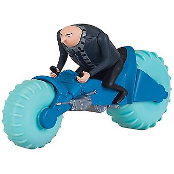 Despicable me flamingo water cyle with gru