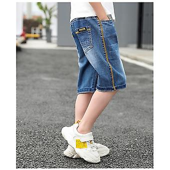 Children Short Denim Thin Short Trousers Stretch Board Shorts Jeans