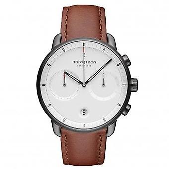 Nordgreen Pi42gmlebrxx White Dial Men's Analog Watch