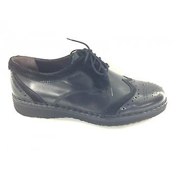 Мужская обувь Galizio Torresi San Crispino In Black Абразивная кожа U15gt03