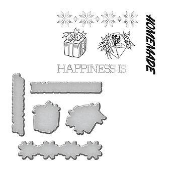חותמת Spellbinders וערכות למות - אושר בעבודת יד על ידי סטפני נמוך