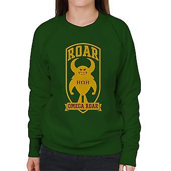 Pixar Monsters University Roar Omega Roar Women's Sweatshirt