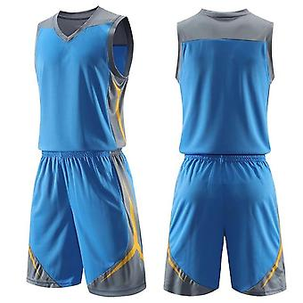 Men Kids Basketball Set Uniforms Sports Suits