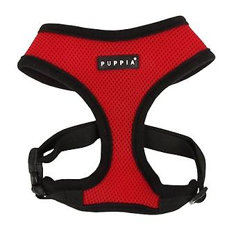 Puppia Red Soft Harness (Dogs , Collars, Leads and Harnesses , Harnesses)
