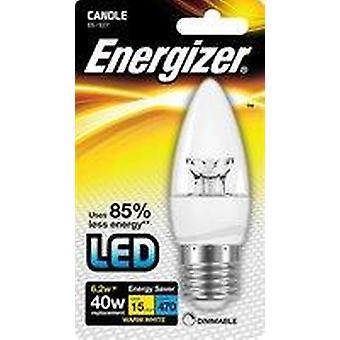 Energizer 15.000 LED Dimbare Gloeilampen-4 Packs Blister Kaars E27 Warm Wit